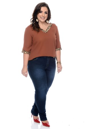 Blusa Plus Size Nonatha