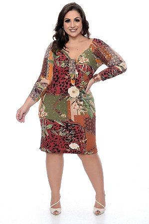 Vestido Plus Size Selony
