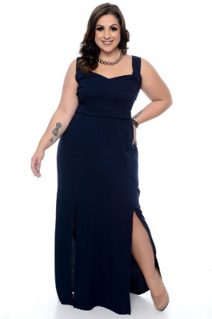 89b305905 Vestido Plus Size Benna   Loja Plus Size Online - Daluz Plus Size ...