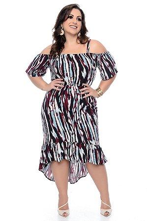 Vestido Plus Size Neyla
