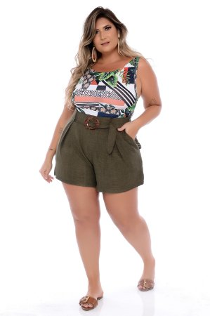 Shorts Plus Size Wilde