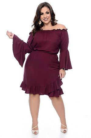 Vestido Ciganinha Plus Size Riley