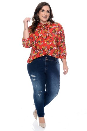 Camisa Plus Size Mazuy