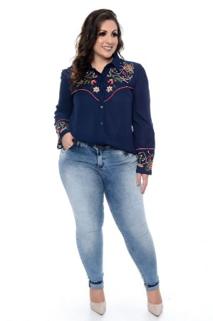 Camisa Plus Size Bridjet