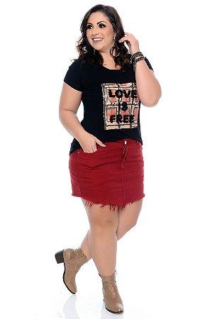 Blusa Plus Size Deliz
