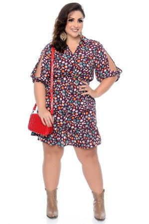 Vestido Plus Size Anaya