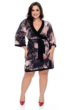 Kimono Plus Size Grasser