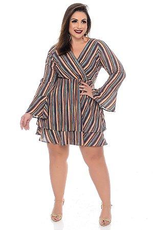 Vestido Plus Size Naya
