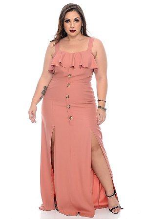 Vestido Longo Plus Size Veronese