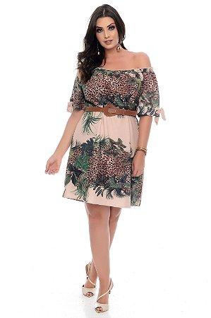 Vestido Plus Size Jabari