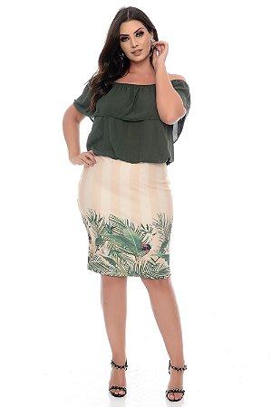 Vestido Plus Size Idelazi