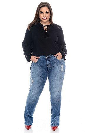 Blusa Plus Size France