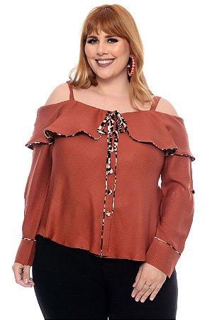 Blusa Plus Size Laiany