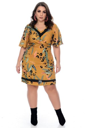 Vestido Plus Size Nohad