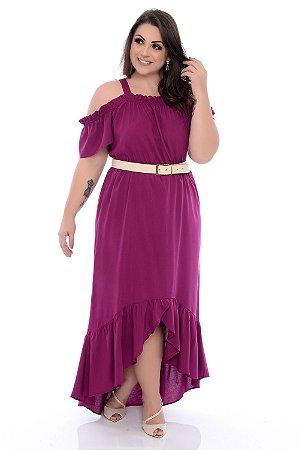 Vestido Plus Size Nayrane