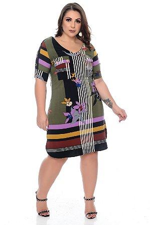 Vestido Plus Size Mirelly
