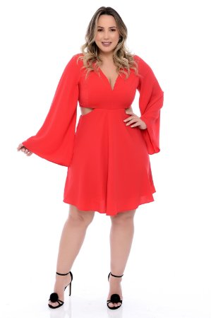 Vestido Plus Size Iviny