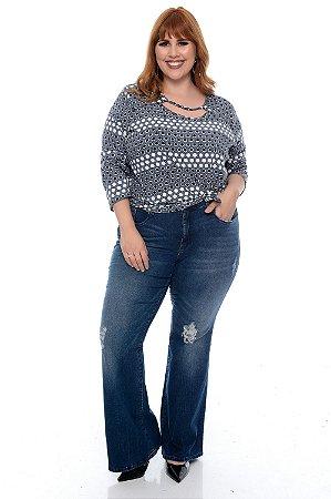 Calça Jeans Plus Size Ozane