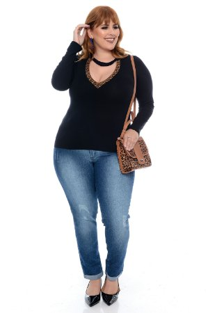 Blusa Plus Size Vannie