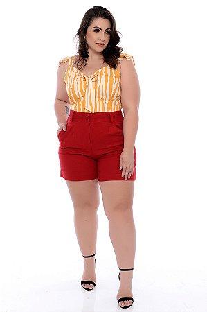 Blusa Cropped Plus Size Vhera