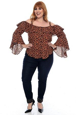 Blusa Plus Size Siarla