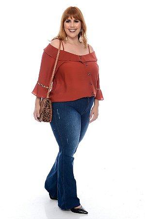 Blusa Plus Size Jhess