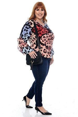 Blusa Plus Size Jhelli