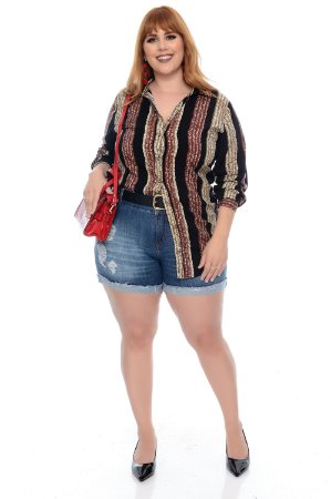 Camisa Plus Size Julite