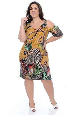 Vestido Plus Size Helainy