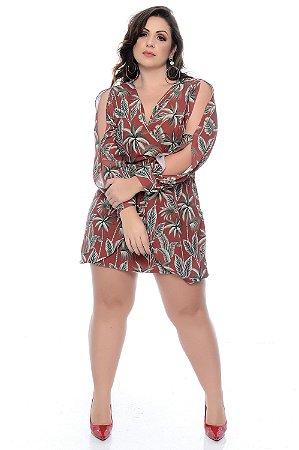 Vestido Plus Size Fabbia