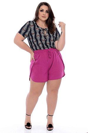 Blusa Plus Size Gethula