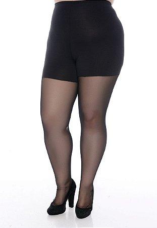 Meia Calça Modeladora Plus Size Etiele
