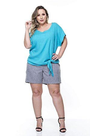 Shorts Plus Size Alfazema