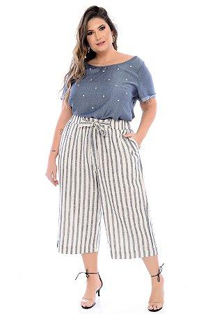 Blusa Plus Size Calendula