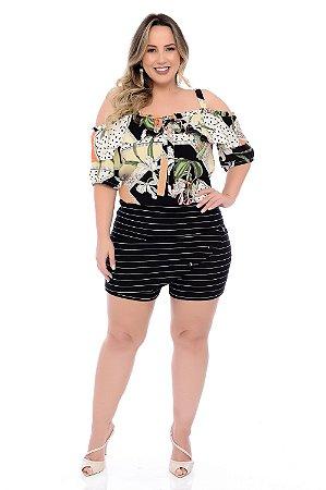 Blusa Plus Size Laina