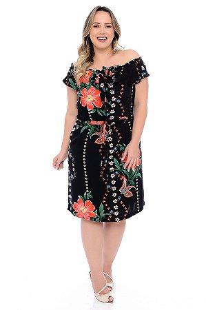 Vestido Plus Size Elouise