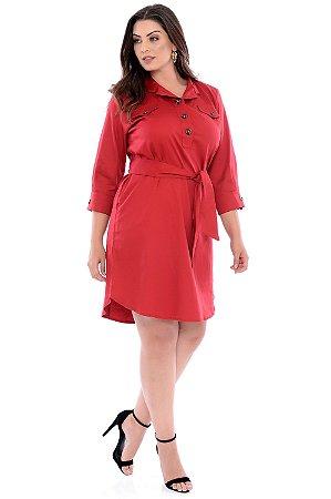 Vestido Plus Size Gazania