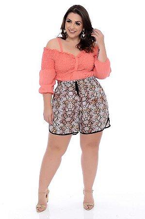 Shorts Plus Size Heather