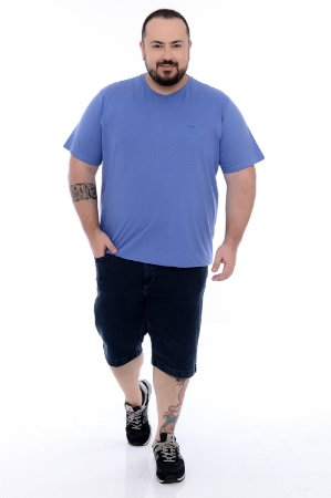 Bermuda Jeans Plus Size Cayson