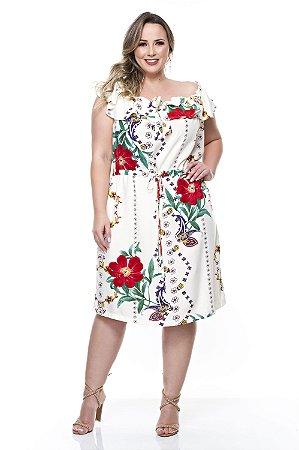 Vestido Ciganinha Plus Size Thaisa