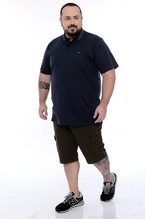 Camisa Polo Plus Size Delio