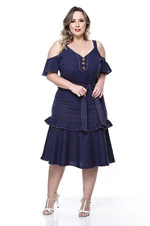 Vestido Plus Size Kaelyn