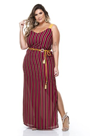 Vestido Longo Plus Size Katey