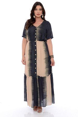 Vestido Longo Plus Size Miette