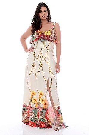 Vestido Longo Plus Size Rosalie