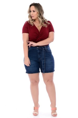 Shorts Jeans Plus Size Jaimeia