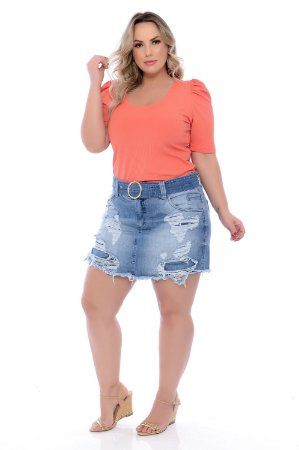 Blusa Plus Size Reegan