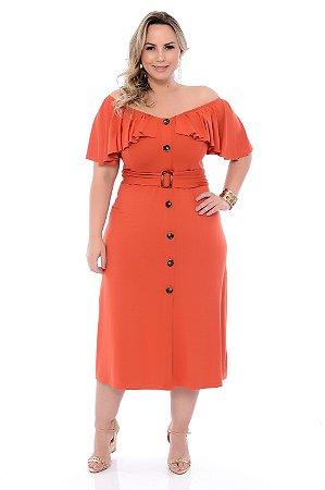 Vestido Plus Size Dheire