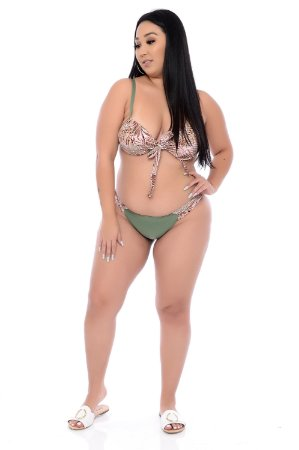 Biquíni com Bojo Plus Size Aruba
