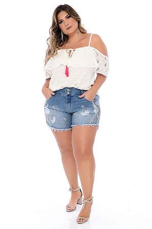 Shorts Jeans Plus Size Ramla